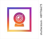 webcam logo vector  clip art....