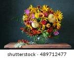 Autumn Bouquet With Garden...