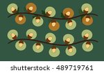 illustration of two cute...   Shutterstock .eps vector #489719761