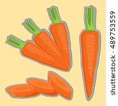 abstract vector illustration...   Shutterstock .eps vector #489753559