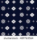 ethnic patterns | Shutterstock . vector #489763564