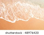 image of a sea and beach - stock photo