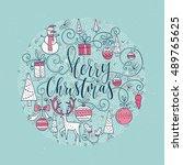 Circle Vector Christmas...