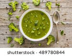 delicious and healthy soup... | Shutterstock . vector #489780844