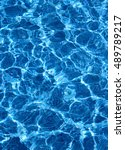 water surface in the swimming... | Shutterstock . vector #489789217