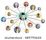 vector illustration of an... | Shutterstock .eps vector #489795634