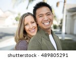 happy couple | Shutterstock . vector #489805291