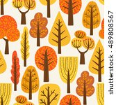 Seamless Pattern With Trees....