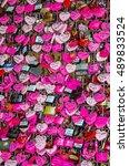 verona  italy   23.09.2016  ... | Shutterstock . vector #489833524