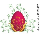 easter egg | Shutterstock .eps vector #48983407
