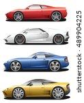 Vector Set Of Cars. Sport...