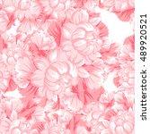 abstract elegance seamless... | Shutterstock . vector #489920521