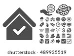 valid house pictograph with...