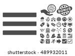 menu pictograph with bonus clip ...