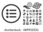 items icon with bonus pictogram....