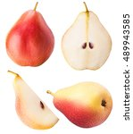 Pear Fruit Sliced Collection...