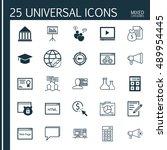 universal icons set on html...