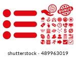 items icon with bonus elements. ...