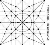 vector seamless pattern.... | Shutterstock .eps vector #489968617