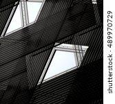 windows. double exposure of...   Shutterstock . vector #489970729