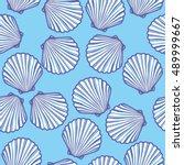 shell   vector illustration | Shutterstock .eps vector #489999667