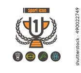 icons sport colorful design...