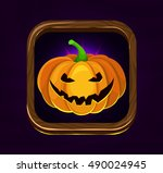 halloween game icon.happy...