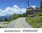 piller  tirol  austria   june... | Shutterstock . vector #490034209