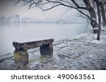 Stone Bench In Hongcun Village