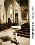 interior of an old church in... | Shutterstock . vector #4900744