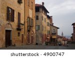 saluzzo  a beautiful historic... | Shutterstock . vector #4900747