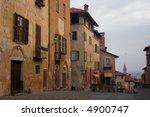 saluzzo  a beautiful historic... | Shutterstock . vector #4900747