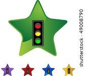 traffic light | Shutterstock .eps vector #49008790