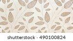 wall tile background | Shutterstock . vector #490100824