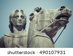 Small photo of Statue of Alexander the Great in Thessaloniki, Makedonia, Greece