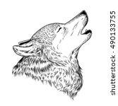 vector illustration of a... | Shutterstock .eps vector #490133755