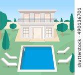 Modern Villa With Swimming Poo...