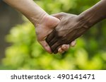for a better future on earth  ... | Shutterstock . vector #490141471