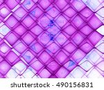 abstract fractal background... | Shutterstock . vector #490156831