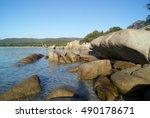Huge Rocks Of Granite At The...