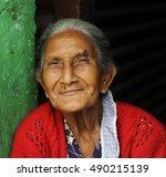 antigua  guatemala   september  ... | Shutterstock . vector #490215139