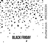 inscription black friday on...   Shutterstock .eps vector #490230034