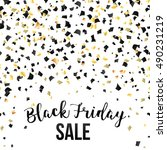 black friday sale inscription... | Shutterstock .eps vector #490231219