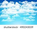 editable vector illustration of ... | Shutterstock .eps vector #490243039