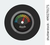 flat vector icon   illustration ... | Shutterstock .eps vector #490270171
