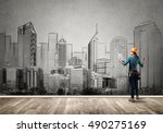 my development plan | Shutterstock . vector #490275169