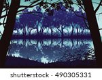 a high quality background of... | Shutterstock .eps vector #490305331
