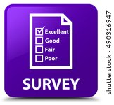 survey  questionnaire icon ... | Shutterstock . vector #490316947