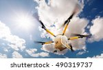 concept of fast autonomous... | Shutterstock . vector #490319737