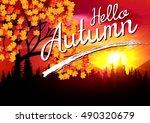 autumn. | Shutterstock .eps vector #490320679